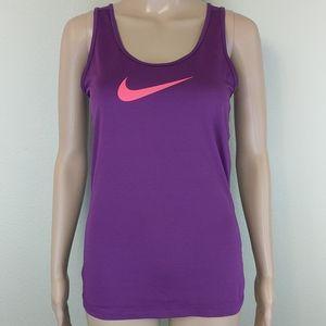 [Nike] Drifit Purple Pink Racerback Running Tank